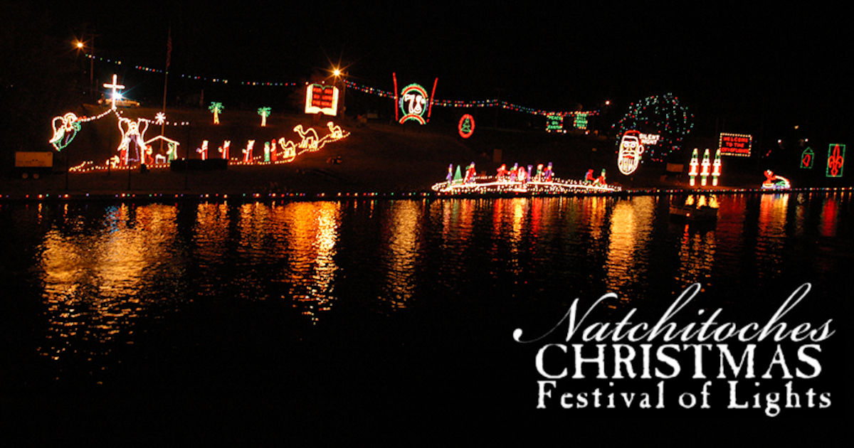 Christmas In Natchitoches 2019 Christmas Season Schedule of Events for Natchitoches, Louisiana
